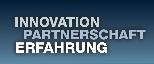 Innovation Partnerschaft Erfahrung